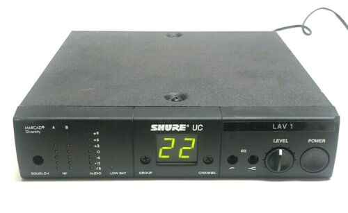 Shure UC UC4-UA Marcad Diversity Wireless Microphone Receiver 782-806 MHz