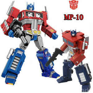 2-Style-Transformers-G1-MP-10-Optimus-Prime-Action-Figure-Toy-In-Stock