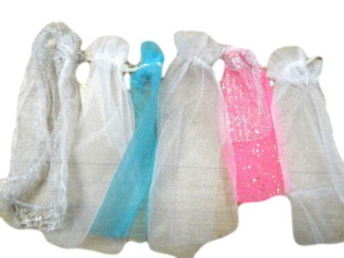 3x BARBIE Sindy Doll' Abbigliamento Abito da sposa Veli Colori Misti gratis UK P & P