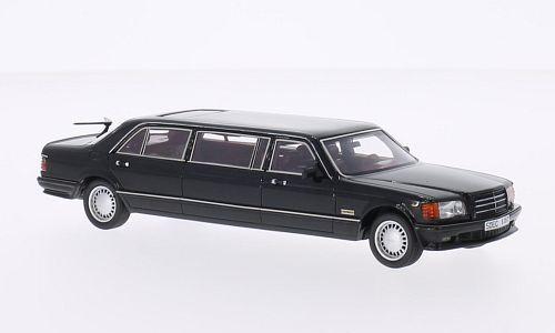 Neo - 45357 - mercedes w126 limousine schwarz - 1985. 1   43