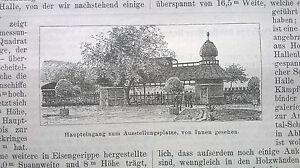 1889 13 Copenhague Nordique Exposition Danemark Partie 2-afficher Le Titre D'origine