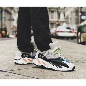 low priced efdc5 eaba2 Details about Yeezy Wave Runner 700 Solid Grey | B75571 / UK 8.5 100%  genuine
