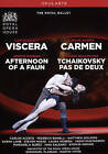 Viscera/Afternoon of a Faun/Carmen/Tchaikovsky Pas de Deux (The Royal Ballet) (DVD, 2016)