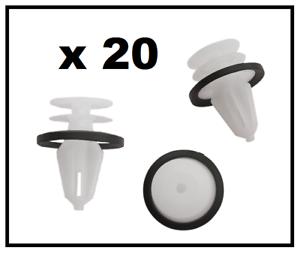 20 x FORD Interior Trim /& Door Card Clips FIESTA FOCUS MONDEO C-MAX TRANSIT