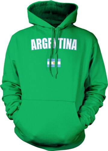 Argentina Country Pride Soccer Argentine Sun Flag Futbol Hoodie Pullover