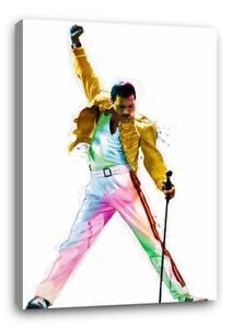 FREDDIE-MERCURY-QUEEN-CANVAS-Wall-Art-Poster-Print-30-034-x20-034-canvas