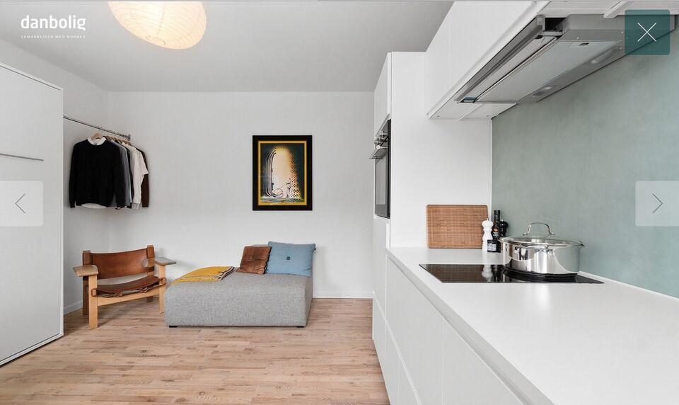 8000 1 vær. lejlighed, 28 m2, Jordbrovej 27 2