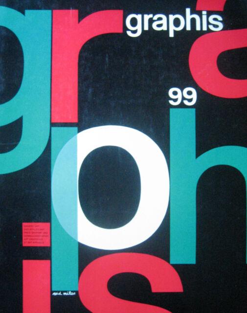 99 GRAPHIS 1962 Reid Miles Denis Bailey Swiss Posters Italian Exhibition Design