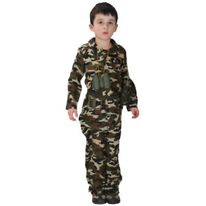 Cool-Kid-Boys-Army-Soldier-Costume-Uniform-Child-Party-Fancy-Dress-Outfits