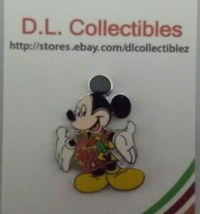 Disney-Mickey-Mouse-in-Hawaiian-Shirt-Pin