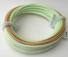 MDI Mill End Fly Lines Weight Forward 8# Mint/Tan Floating WF8F British Made