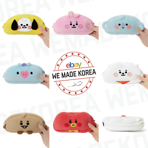 BT21-Baby-Character-Doll-Pencil-Case-Pouch-7types-Official-K-POP-Authentic-Goods