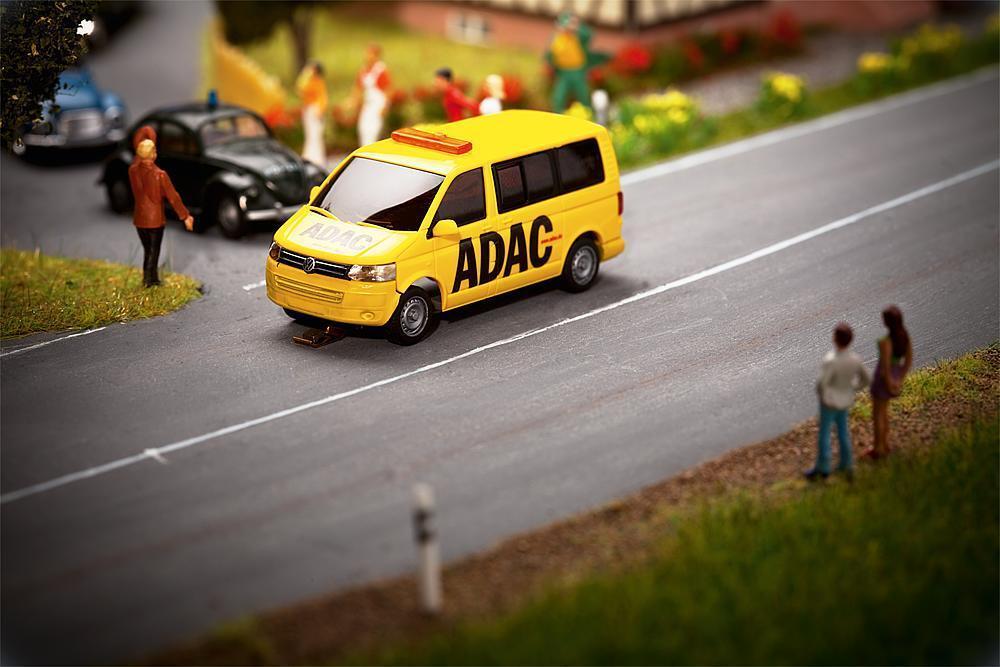 Faller 161586 h0 car auto sistema VW t5 bus ADAC Wiking