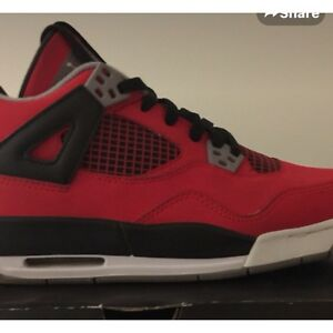 best loved 5c618 c8873 Details about Nike Air Jordan Retro 4 Toro Bravo Size 6.5 Cement Bred