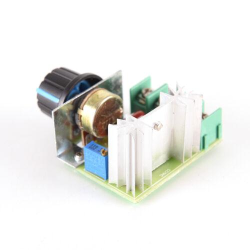 régulateur régulateur de vitesse de variateur électronique 2000W SCR 9H