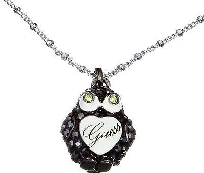Guess Halskette Collier für Damen Pinguin Strass Kette UBN12021 UVP 99 € Neu