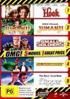Hook Jumanji Small Soldiers Thunder Birds Flipper Region 4 DVD 5 Movie 3 Discs