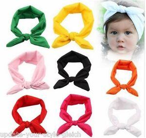 Farbwahl Haarschmuck Haarband Baby Mädchen elastisch Schleife  Stirnband Baby Haarschmuck