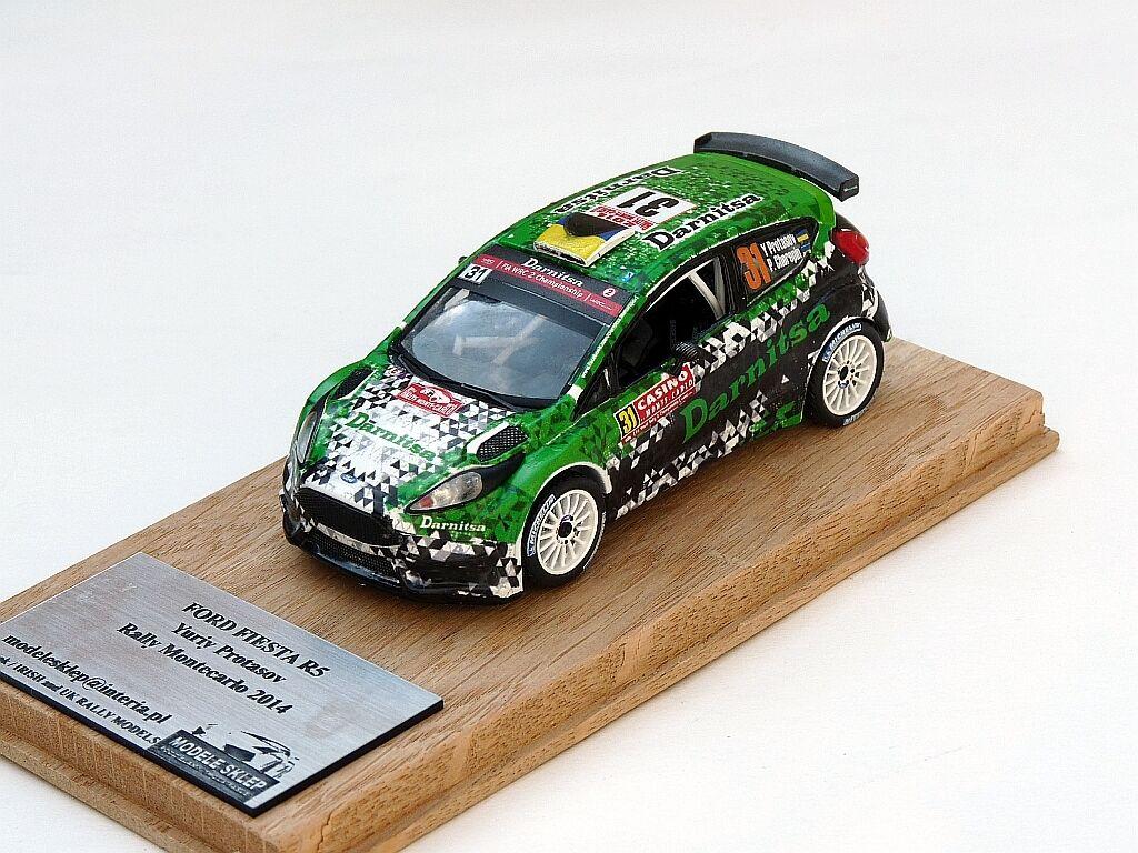 Juriy Prossoasov rally monte carlo 2014 ford fiesta r5 1 43 código 3 Model