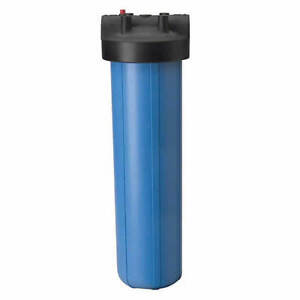 """BIG BLUE WATER FILTER HOUSING 20"""" WITH 1"""" FPT WITH PR"""