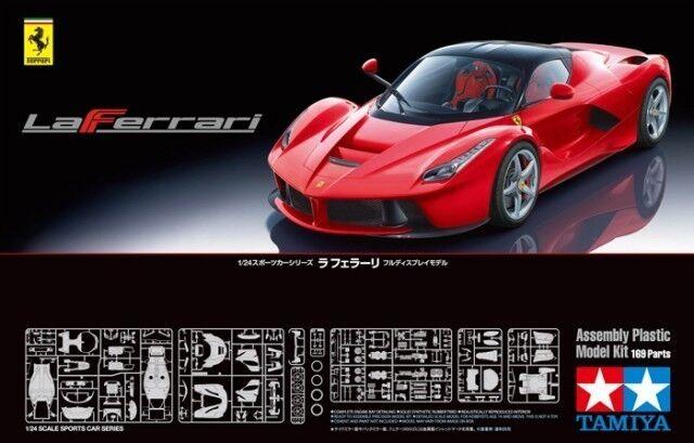 Nouvel an nouvelle couleur, impression  reste souvent Ferrari LAFERRARI 1/24 RED KIT DI MONTAGGIO 24333 Tamiya | Attrayant De Mode  | Belle Couleur  | Jolie Et Colorée  | Sortie