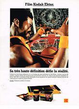 PUBLICITE ADVERTISING 045  1992  KODAK  film EKTAR 100