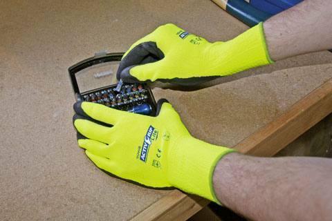 KERON WORKS Qualitäts Handschuh Activ Grip Lite Gr 7-11 Arbeitshandschuh