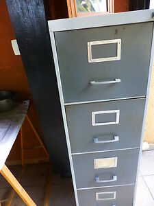 Ans 7 0 Range Documents Chemises En Fer 4tiroirs Ebay