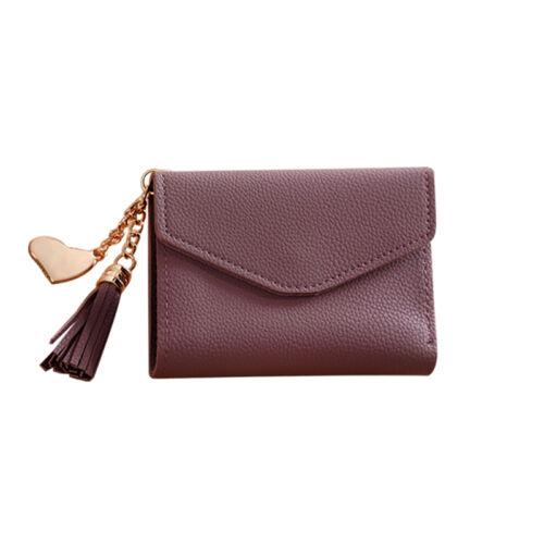Fashion Lady Women Leather Clutch Wallet Long Card Holder Case Purse Handbag NEW
