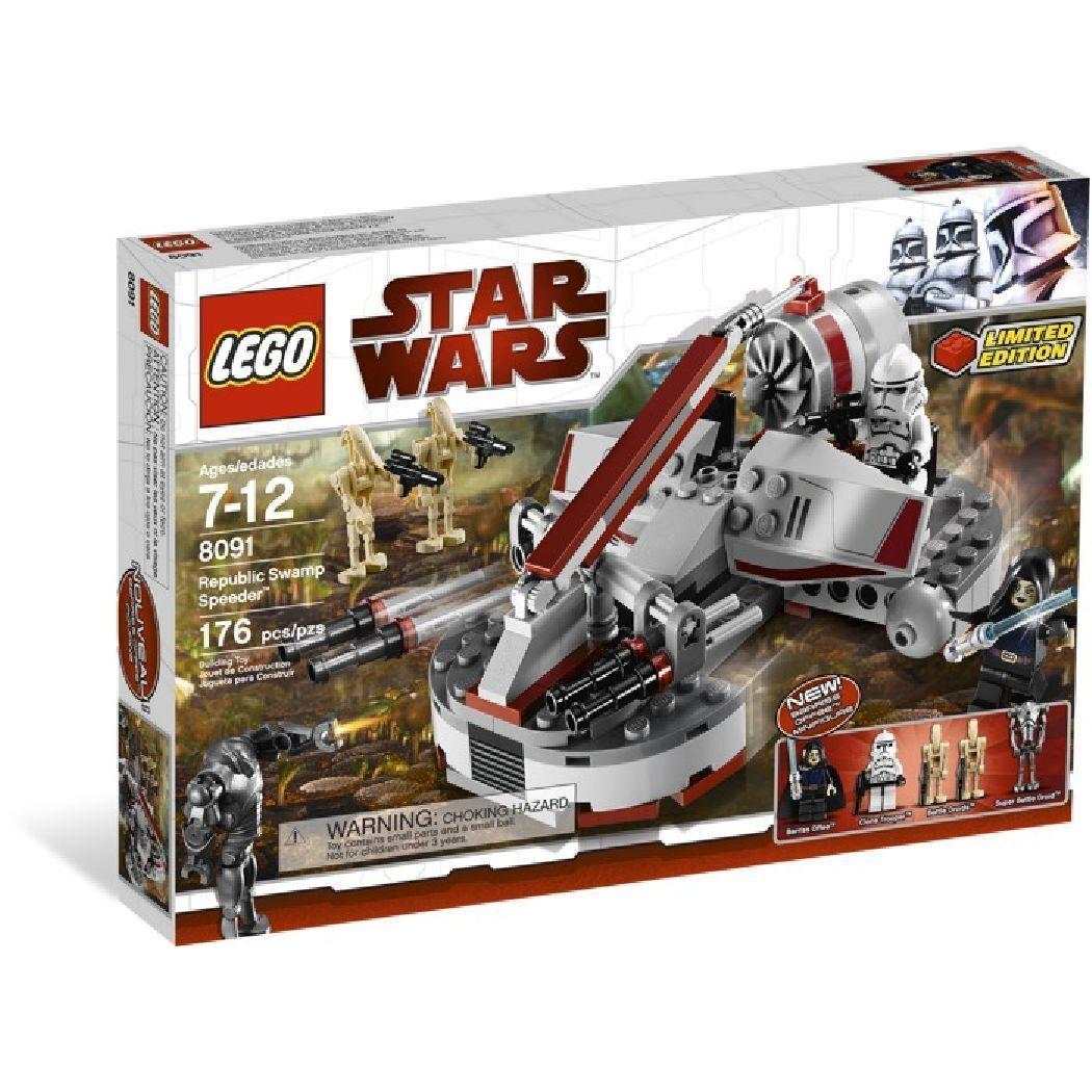LEGO estrella guerras REPUBLIC SWAMP SPEEDER  8091  più preferenziale