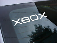 Xbox Window Decal Sticker (free Shipping 2 Decals)