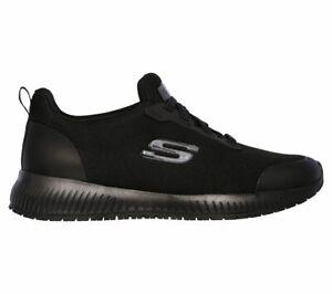 Skechers pour en Work Chaussure 77222ec antidérapante sportive de marque femmes mailles Squad Sr RnYrRqwAxa