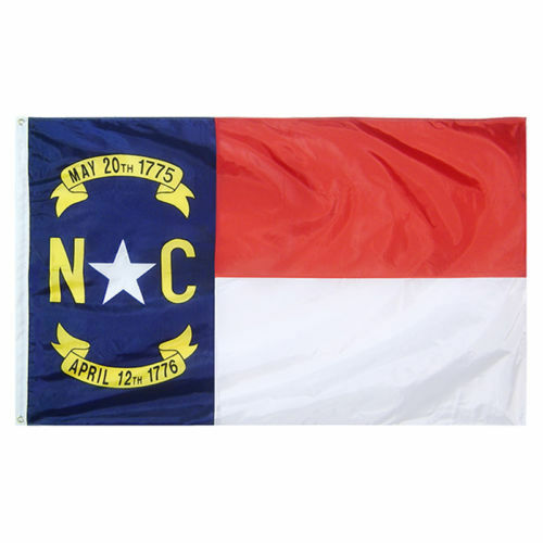 Brass Grommets Quality Nylon North Carolina State Flag All Sizes You Pick