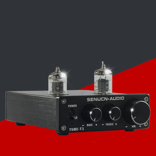 Vacuum Tube Phono Stage Turntable Phonograph Pre Amplifier Stereo Pre-Amp Hi-Fi