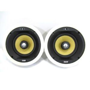 Bowers-amp-Wilkins-CCM-65-Hi-Fi-Home-AV-Cinema-Ceiling-Speakers-Pair-Warranty
