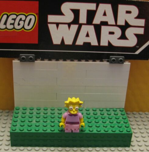"""SERIES   LEGO LOT MINIFIGURE--MINI FIG  /""""  LISA    71090    SIMPSONS SERIES 2 /"""""""