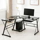 OFFICE MORE L-Shape Corner Computer Desk - Black (1050301500M)