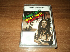 BOB MARLEY & THE WAILERS - Anthology - Best Jamaica Hits (new cassette)