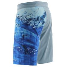Huk Men S Kc Scott Double Down Maui Ice Blue Size 38 Fishing