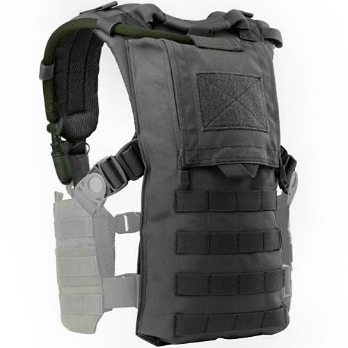 CONDOR-MOLLE-Modular-Tactical-Nylon-HYDRO-HARNESS-Vest-242-BLACK