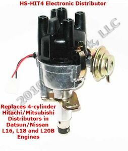 details about new 4-cylinder electronic distributor for datsun/nissan l16  l18 l20b j15 engines