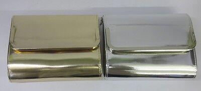 Ella 72627/72628 Damen Metallische Abend Tasche in 2 Farben erhältlich