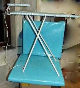 1960-Ancien-Jouet-Planche-a-Repasser-Jeannette-Vintage-Fer-Dinette-old-Toy-Fille