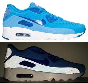 Nike Air Max 90 Ultra Br Mens size 11 725222 404 Photo BlueGame RoyalWhite