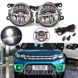 LED-Front-Fog-Light-Lamp-Wiring-Kits-For-Suzuki-APV-Grand-Vitara-Jimny-Swift-SX4