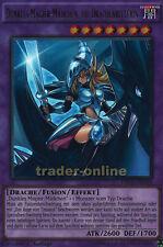 Dunkles Magier-Mädchen, die Drachenritterin DRL3-DE044 1. Auflage