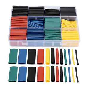 530pcs-Heat-Shrink-Wire-Wrap-Sleeve-Tubing-Sets-Electric-Insulation-Tube-E6W7