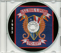 Uss Charles S Sperry Dd 697 1953 Cruise Book Cd