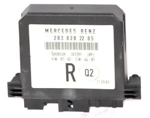 MERCEDES-C180-C200-W203-UK-DRIVER-SIDE-REAR-DOOR-MODULE-PART-NO-2038202285