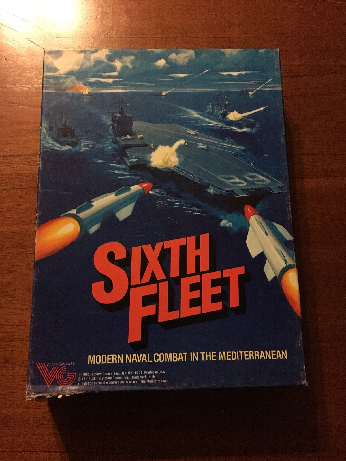 Non Perforé sixième flotte moderne Nombril Combat-Victory Games